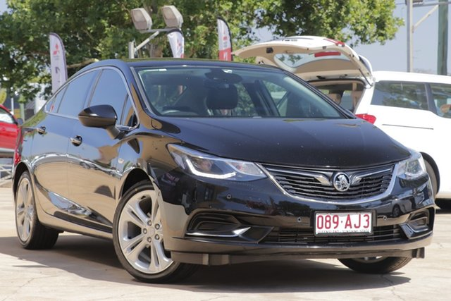 Used Holden Astra BL MY17 LTZ Toowoomba, 2017 Holden Astra BL MY17 LTZ Black 6 Speed Sports Automatic Sedan
