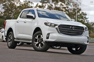2020 Mazda BT-50 TFS40J XTR White 6 Speed Sports Automatic Utility.