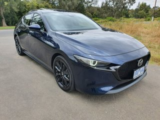 2019 Mazda 3 BP Series G25 Astina Blue Sports Automatic Hatchback.