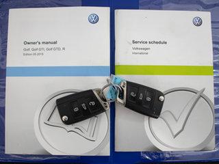 2015 Volkswagen Golf AU MY16 R Wolfsburg Edition Blue 6 Speed Direct Shift Hatchback