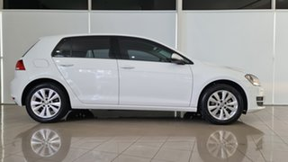 2015 Volkswagen Golf VII MY15 90TSI DSG White 7 Speed Sports Automatic Dual Clutch Hatchback