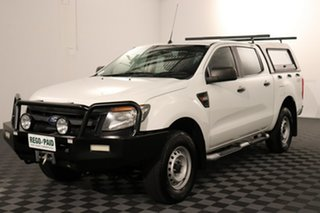 2015 Ford Ranger PX XL White 6 speed Automatic Utility.