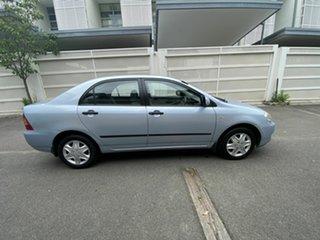 2005 Toyota Corolla ZZE122R 5Y Ascent Blue 4 Speed Automatic Sedan.