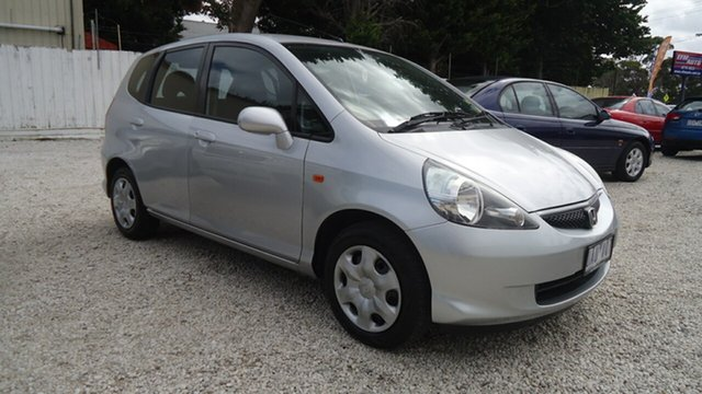 Used Honda Jazz GD MY05 GLi Seaford, 2005 Honda Jazz GD MY05 GLi Silver 1 Speed Constant Variable Hatchback