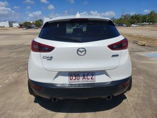 2017 Mazda CX-3 DK4WSA sTouring SKYACTIV-Drive i-ACTIV AWD White 6 Speed Sports Automatic Wagon