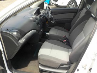 2009 Holden Barina TK MY09 White 4 Speed Automatic Hatchback