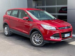 2015 Ford Kuga TF MY15 Ambiente 2WD Red 6 Speed Sports Automatic Wagon