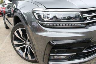 2017 Volkswagen Tiguan 5NA 140 TDI Highline Black 7 Speed Auto Direct Shift Wagon.