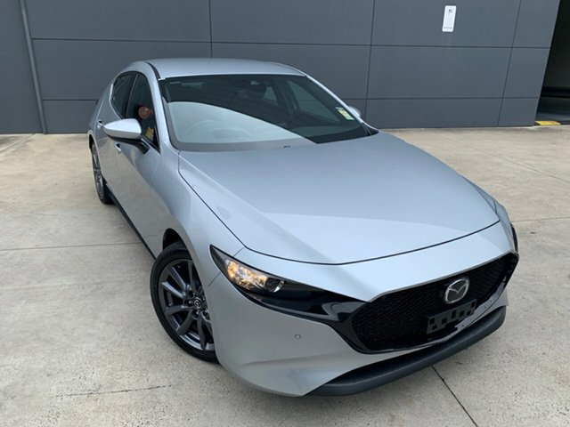 New Mazda 3 BP2H7A G20 SKYACTIV-Drive Touring Alexandria, 2020 Mazda 3 BP2H7A G20 SKYACTIV-Drive Touring Sonic Silver 6 Speed Sports Automatic Hatchback
