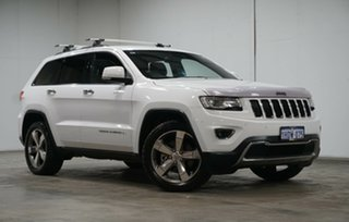 2015 Jeep Grand Cherokee WK MY15 Limited Bright White 8 Speed Sports Automatic Wagon.