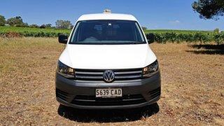 2018 Volkswagen Caddy 2KN MY19 TDI250 SWB DSG White 6 Speed Sports Automatic Dual Clutch Van.