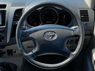 2008 Toyota Hilux KUN26R MY08 SR5 Black 5 Speed Manual Utility