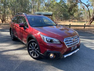 2016 Subaru Outback B6A MY16 2.0D CVT AWD Premium Red 7 Speed Constant Variable Wagon.