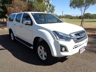 2018 Isuzu D-MAX MY18 LS-U Crew Cab White 6 Speed Sports Automatic Utility.