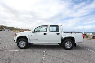 2010 Holden Colorado RC MY10 LX Crew Cab White 5 Speed Manual Utility