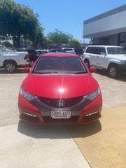 2012 Honda Civic 9th Gen VTi-S Red 6 Speed Manual Hatchback.