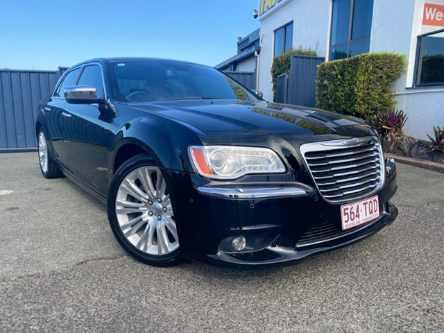 Used Chrysler 300 LX MY14 C Slacks Creek, 2014 Chrysler 300 LX MY14 C Black 5 Speed Sports Automatic Sedan