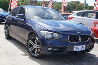 2012 BMW 118i F20 118i Blue 8 Speed Sports Automatic Hatchback.
