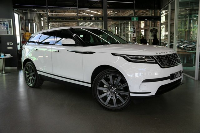 Used Land Rover Range Rover Velar L560 MY18 Standard SE North Melbourne, 2018 Land Rover Range Rover Velar L560 MY18 Standard SE White 8 Speed Sports Automatic Wagon