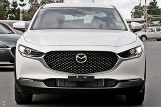 2020 Mazda CX-30 DM2W7A G20 SKYACTIV-MT Pure White 6 Speed Manual Wagon.