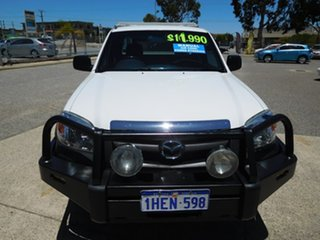 2009 Mazda BT-50 UNY0E4 DX+ Freestyle 4x2 White 5 Speed Manual Cab Chassis.