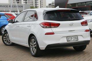 2018 Hyundai i30 PD2 Update Active Polar White 6 Speed Auto Sequential Hatchback.