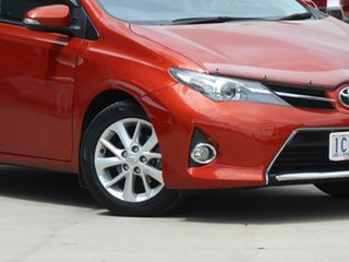 2014 Toyota Corolla ZRE182R Ascent Sport S-CVT Inferno Red 7 Speed Constant Variable Hatchback.