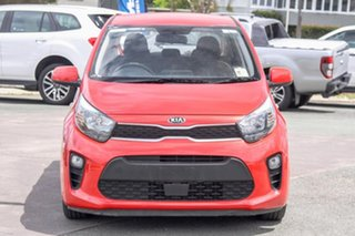2018 Kia Picanto JA MY19 S Red 4 Speed Automatic Hatchback.