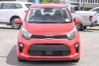 2018 Kia Picanto JA MY19 S Red 4 Speed Automatic Hatchback.