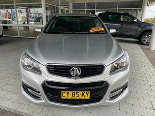 2014 Holden Commodore SV6 - Storm Silver Sports Automatic Sedan.