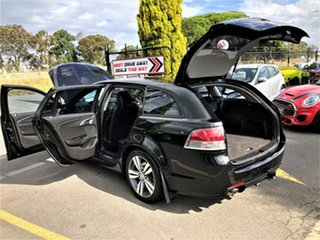 2014 Holden Commodore VF MY14 SV6 Sportwagon Black 6 Speed Sports Automatic Wagon