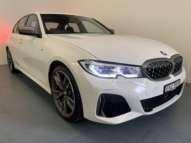 Demo BMW 3 Series G20 M340i Steptronic xDrive Newcastle West, 2020 BMW 3 Series G20 M340i Steptronic xDrive Alpine White 8 Speed Sports Automatic Sedan