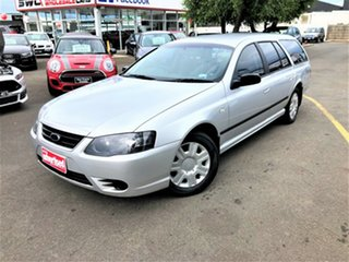 2008 Ford Falcon BF Mk III XT Silver 4 Speed Sports Automatic Wagon.