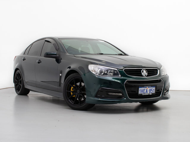 Used Holden Commodore VF SS, 2014 Holden Commodore VF SS Green 6 Speed Automatic Sedan