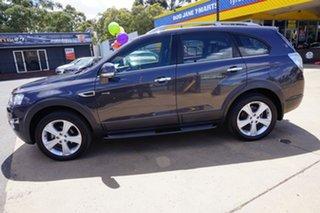 2013 Holden Captiva CG MY13 7 AWD LX Smokey Eye 6 Speed Sports Automatic Wagon.