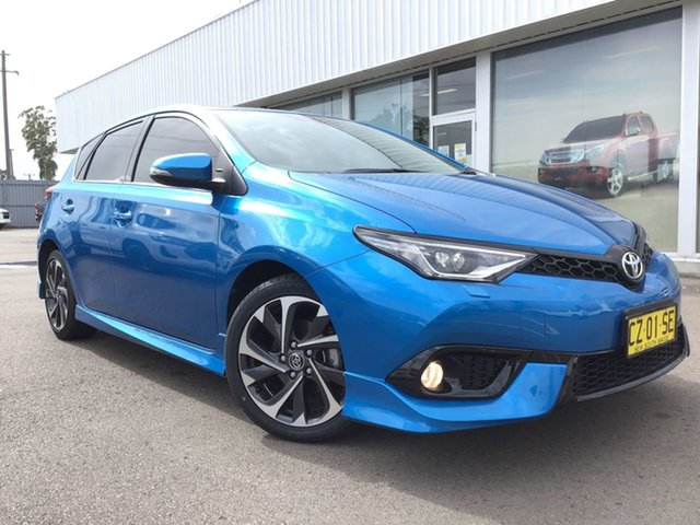 Used Toyota Corolla ZRE182R ZR S-CVT Cardiff, 2017 Toyota Corolla ZRE182R ZR S-CVT Blue 7 Speed Constant Variable Hatchback