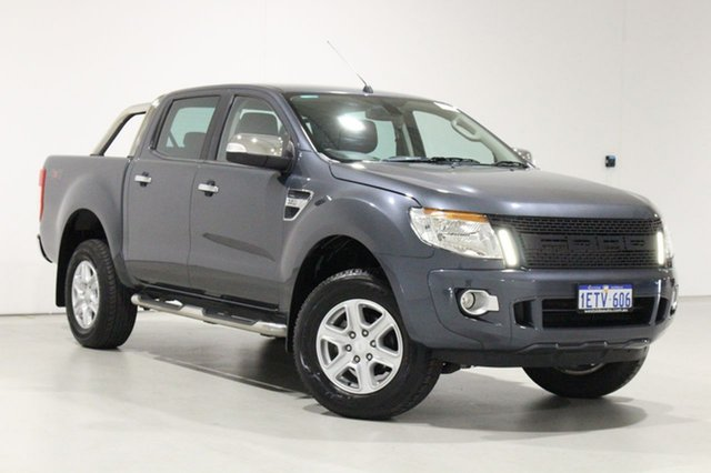 Used Ford Ranger PX XLT 3.2 (4x4) Bentley, 2015 Ford Ranger PX XLT 3.2 (4x4) Grey 6 Speed Automatic Double Cab Pick Up