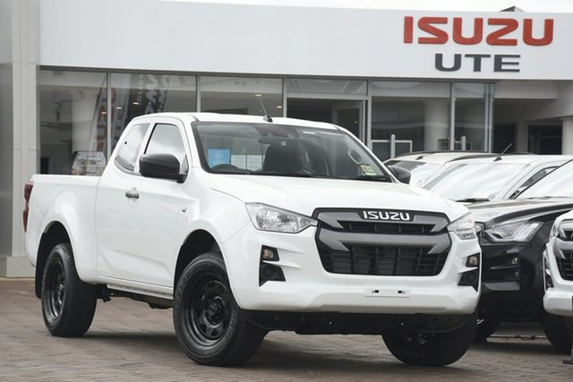 New Isuzu D-MAX TF MY21 SX (4x2) Wangaratta, 2020 Isuzu D-MAX TF MY21 SX (4x2) Mineral White 6 Speed Auto Seq Sportshift Space Cab Utility