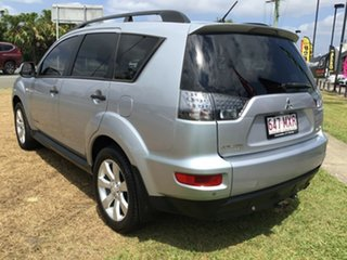 2010 Mitsubishi Outlander ZH MY10 LS Cool Silver 5 Speed Manual Wagon