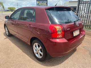 2006 Toyota Corolla ZZE122R 5Y Ascent Maroon 4 Speed Automatic Hatchback