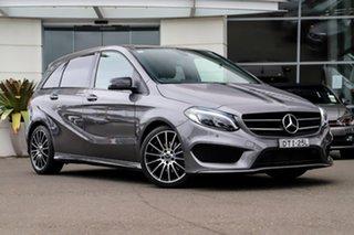 2017 Mercedes-Benz B-Class W246 807MY B180 DCT Grey 7 Speed Sports Automatic Dual Clutch Hatchback.