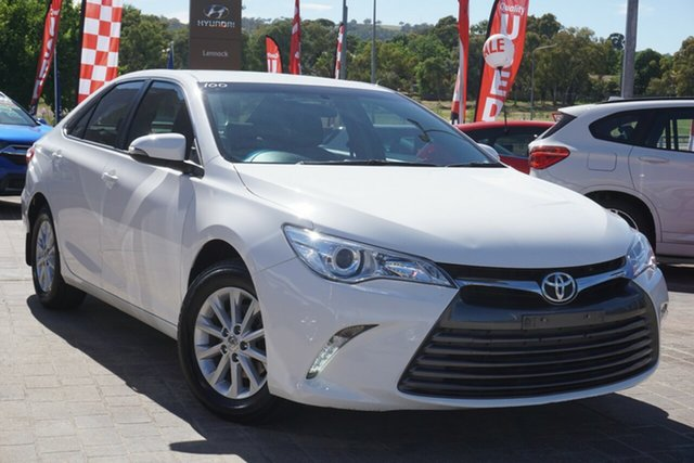 Used Toyota Camry ASV50R Altise Phillip, 2017 Toyota Camry ASV50R Altise White 6 Speed Sports Automatic Sedan