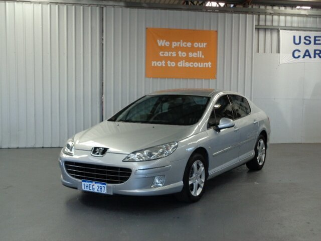 Used Peugeot 407 Series II ST HDi Rockingham, 2011 Peugeot 407 Series II ST HDi Silver 6 Speed Sports Automatic Sedan