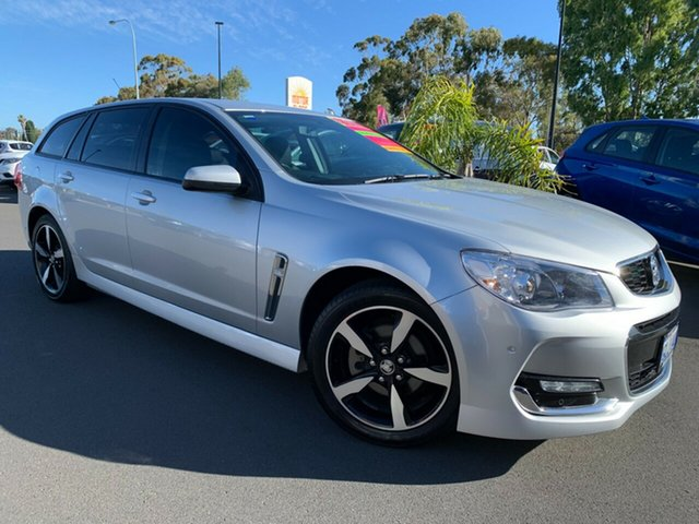 Used Holden Commodore VF II MY17 SV6 Sportwagon Bunbury, 2017 Holden Commodore VF II MY17 SV6 Sportwagon Silver 6 Speed Sports Automatic Wagon
