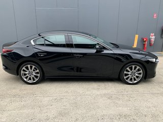 2020 Mazda 3 BP2SLA G25 SKYACTIV-Drive Astina Jet Black 6 Speed Sports Automatic Sedan.