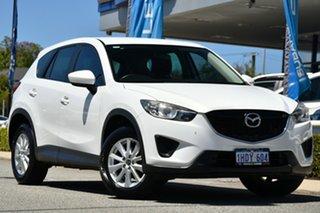 2013 Mazda CX-5 KE1071 MY13 Maxx SKYACTIV-Drive White 6 Speed Sports Automatic Wagon.