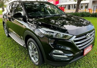 2017 Hyundai Tucson TL MY17 Active X 2WD Black 6 Speed Sports Automatic Wagon.