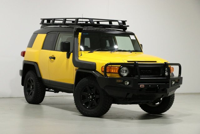 Used Toyota FJ Cruiser GSJ15R MY14 Bentley, 2016 Toyota FJ Cruiser GSJ15R MY14 Yellow 5 Speed Automatic Wagon