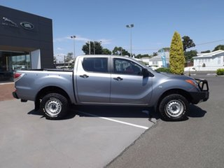 2014 Mazda BT-50 UP0YF1 XT Grey 6 Speed Manual Utility.