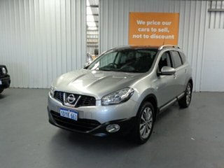 2011 Nissan Dualis J10 Series II MY2010 +2 Hatch X-tronic Ti Silver 6 Speed Constant Variable.